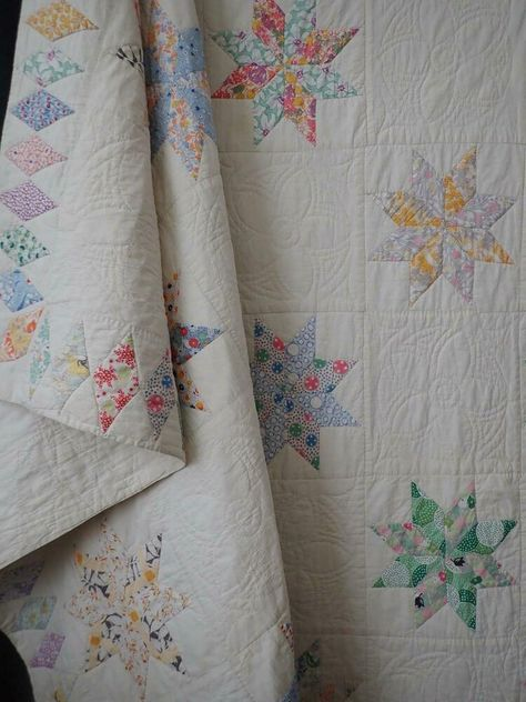 Cats Lap Quilt Pattern vintage 1980/'s Gingham Calico Dogs scrappy quilting feedsack prints