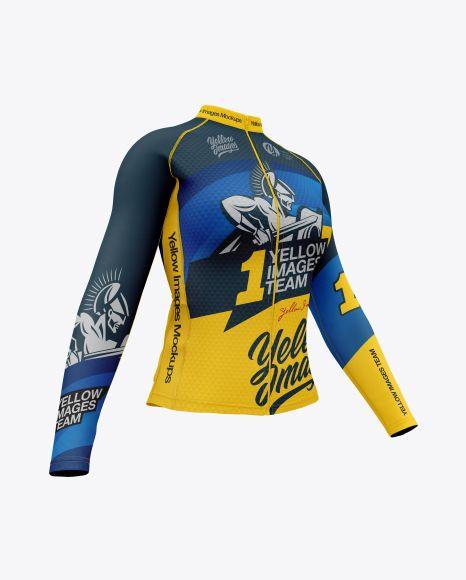 Download Women S Cycling Jersey Mockup Half Side View In Apparel Mockups On Yellow Images Object Mockups Design Mockup Free Clothing Mockup Shirt Mockup