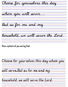 Zaner-Bloser Handwriting Printables | Guesthollow.com - Homeschool ...