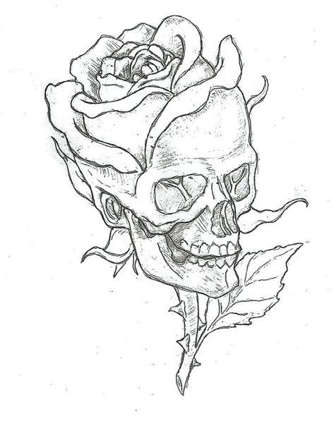 ▷ 1001 + modèles et conseils pour apprendre comment dessiner une rose