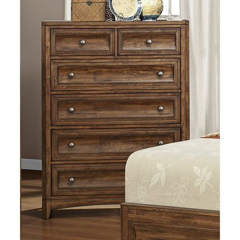 Emerald Home Scenario 6 Drawer Chest - B141-05