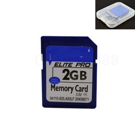 2GB High Speed SD Secure Digital Memory Card Nikon Canon Camera HP PC Flash Phot