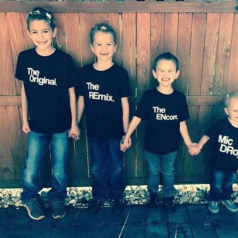 Family picture day! Kids T-Shirts | Size 2t - 12 youth | Clothing | Stocking Stuffer | Gift for | Twin Siblings | Family Shirt Ideas | Original | Remix | Kaans