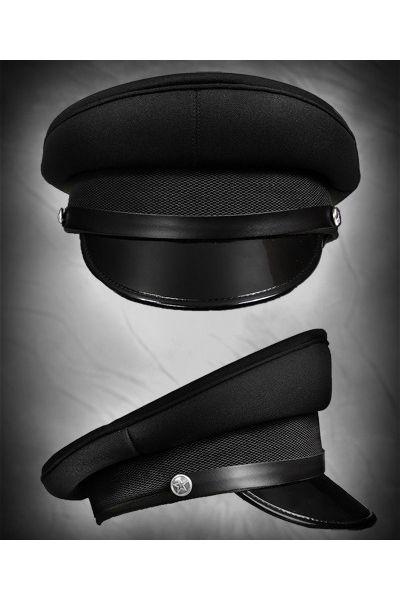 Restyle Military Officer Hat Peaked Cap  7ed1f680eab