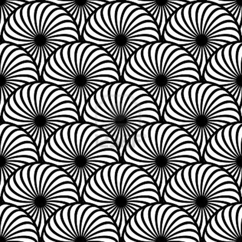 I love optical illusions. they have always been i like how it looks like scales overlapping each other almost as if it was made from a pattern style brush