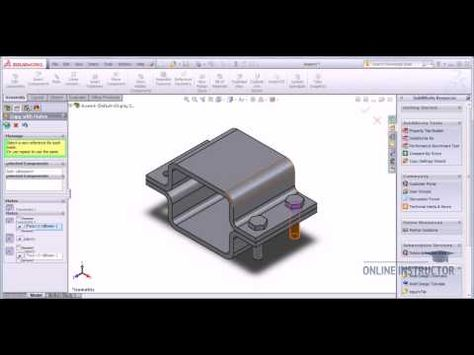Create limit mates solidworks tutorial video-tutorials. Net.