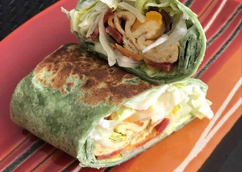 reggeli burrito ? | recept ekkor: 2019 | pita,tekercs, tortilla