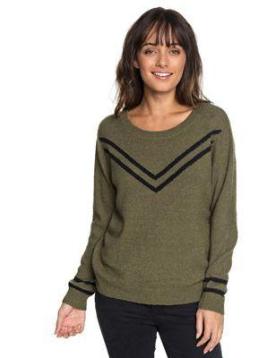 Roxy Women's Town Crew Neck LS Top   Wishlist   Sweaters