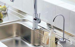 浄水器機能付水栓 ビルトイン形 浄水器兼用混合水栓 浄水 浄水器