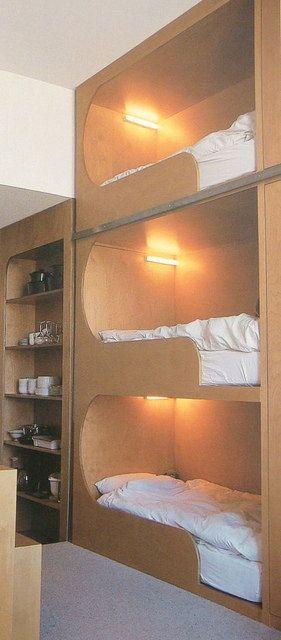 Bunk Beds Para espacios pequeños
