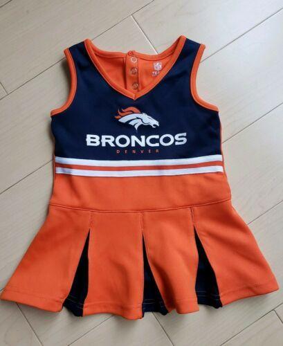 timeless design 43ab6 1e6c5 Denver Broncos Toddler Cheerleader Dress   NFL Baby   Denver ...