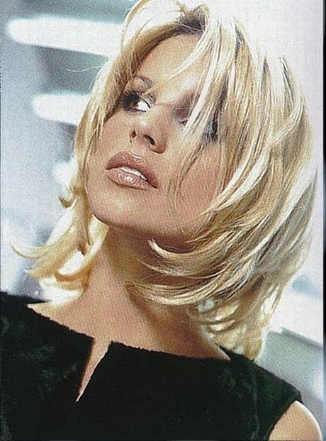 Coiffure Mi Long Cheveux Fins Cabello Pinterest Medium Layered