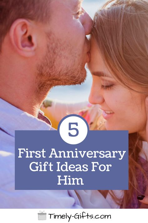 Looking for first anniversary gifts for him ideas? This article will have some fun and touching gift ideas for your husband on your first anniversary. These gifts are a great way to celebrate an important event in your life. Check out these great first anniversary gift ideas! #firstanniversary #giftsforhim #husbandgifts #husbandwife #mr&mrs #him&hergifts #ideas #couplegifts #touchinggifts #fungifts #greatgifts