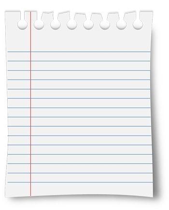Lined Paper Transparent : lined, paper, transparent, Notebook, Paper, Transparent, Background, Https://momogicars, Regarding, Transparent22503