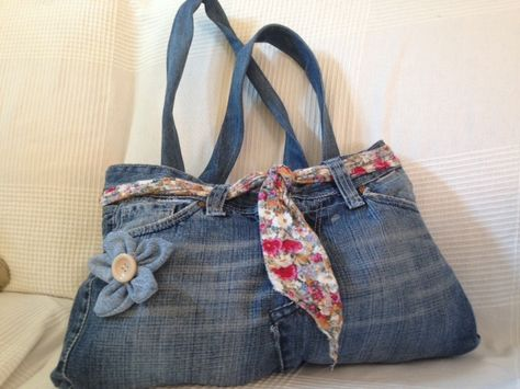 miglior fornitore dai un'occhiata stilista BORSA JEANS RICICLATO | Jeans riciclare, Borse e Jeans
