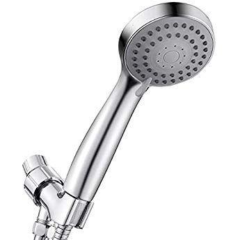 Shower Head High Pressure 3 Settings Handheld Shower Head With Hose Bracket And Teflon Tape Shower Head With Hose Handheld Shower Head Hand Held Shower
