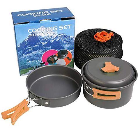 Romdink Kit De Batterie De Cuisine Exterieure 1 2 Personnes