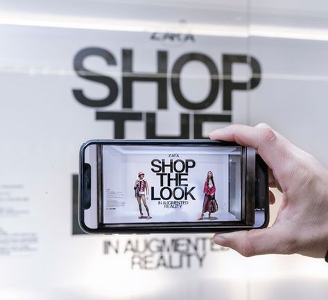 ZARA to launch augmented reality experience - Retail Focus - Retail Blog For Interior Design and Visual Merchandising