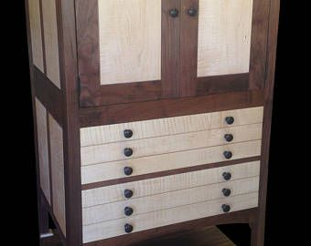 Dresser Top Craftsman Jewelry Armoire Jewelry Armoire