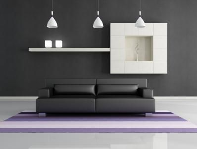 Gray Wall Color paint ideas: slate gray walls | slate, apartments and living rooms