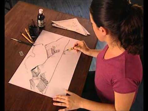 Youtube Dibujos A Tinta Dibujos Con Pluma Y Tinta Dibujo A Tinta