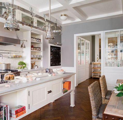 Griferia Cocinas Y Banos Salon Con Cocina Americana Y