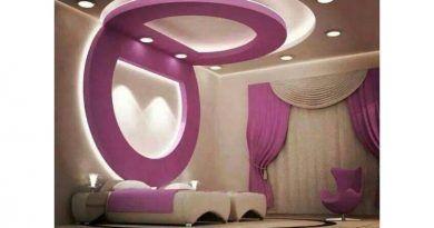 اسقف جبس غرف نوم ناعمه Gypsum Ceiling For Soft Bedroom قصر الديكور False Ceiling Design False Ceiling Living Room Ceiling Design