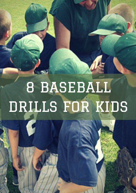 8 Baseball Drills for Kids
