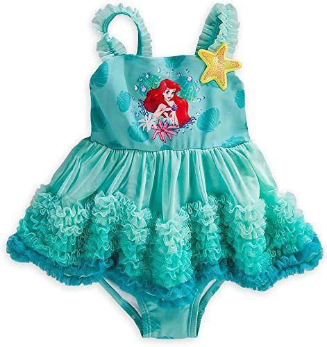 3 ans Rose Maillot de bain 3 ans 1 pi/èce Ariel  la Petite Sirene Disney