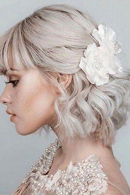 Short Hairstyles For Prom 7 Short Hairstyles For Prom Prom Hairstyles For Short Hair Short Wedding Hair Thick Hair Styles
