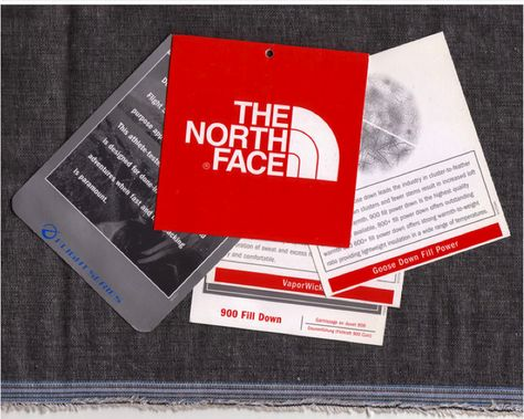 Aaron Morris : Graphic Design: The North Face - Swing Tag Analysis