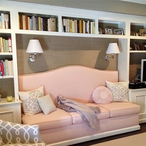 Library shelving. Could have cupboards at low level, and be designed ...
