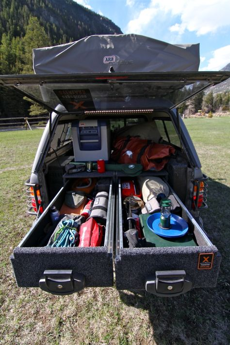 2001 Toyota Tacoma :: Expedition Overland Vehicle Builds - More awesome storage for the truck bed.