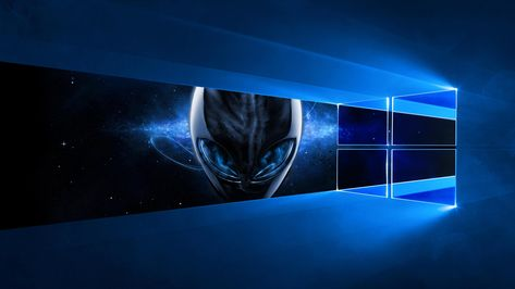 Windows 10 Alienware 4k Wallpaper I Made Several Months Ago