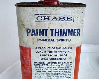 Etsy Your Place To Buy And Sell All Things Handmade Unique Items Products Mineral Spirits Paint Thinner