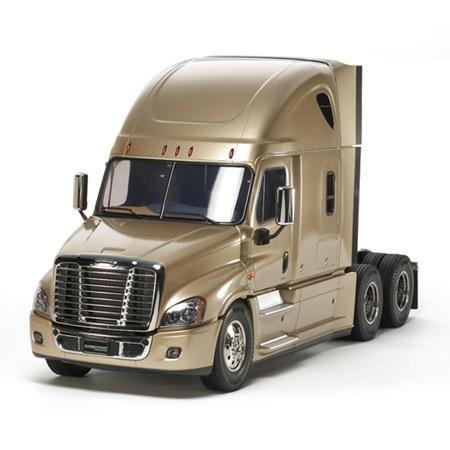 1 14 Cascadia Evolution Semi Tam56340 Tamiya America Inc In 2021 Freightliner Freightliner Cascadia Freightliner Trucks