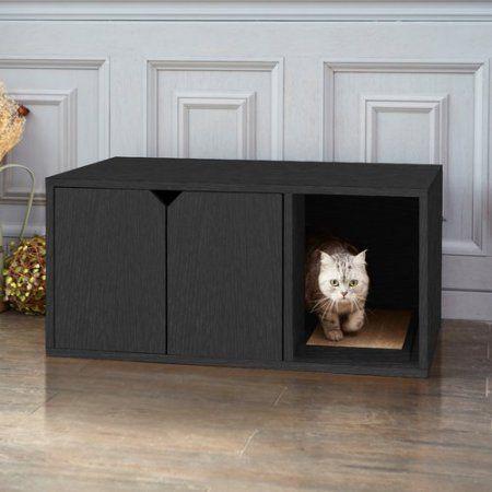 Tucker Murphy Pet Giselle Modern Litter Box Enclosure Cat Litter