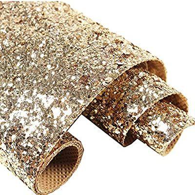 Self Adhesive Champagne Gold Chunky Glitter Wallpaper Sparkle Glitter Fabric 17 4in X 16 4 Glitter Paint For Walls Glitter Wallpaper Silver Glitter Wallpaper