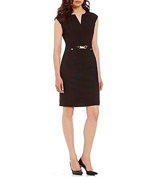 50+ Black belted shift dress ideas