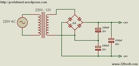 12v Ac 24v Dc Voltage Doubler Circuits Simple Circuit Projects Electronics Projects Circuit