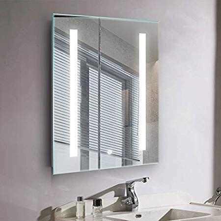 Janboe 500x700mm Illuminated Led Bathroom Mirror Anti Fog Led Mirrors With Lights Touch Switch Control Vertical Amp Horizon Led Mirror Bathroom Led Mirror