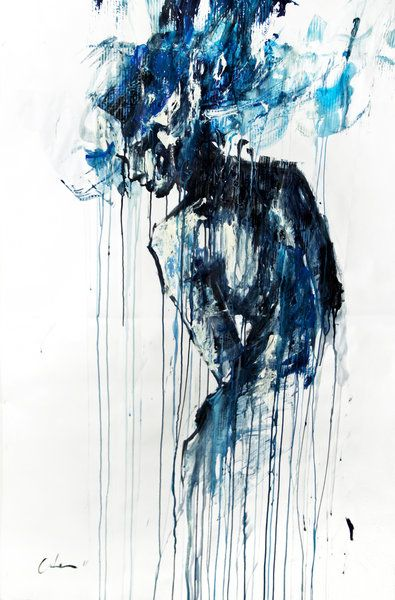 Agnes Cecile, Water - this artist creates a lot of beautiful pieces with watercolor (check out some of her speed painting on youtube)