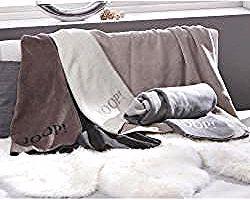 Joop Wohndecke 150 200 Cm Grau 150x200 Cm Joopjoop In 2020 Throw Blanket Blanket Bed