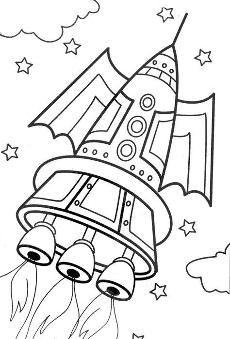 Raskraski Na Temu Kosmos Raskraski Kosmos Detskij Risunok