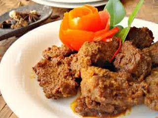 Resep Rendang Daging Sapi Resep Masakan Resep Ayam Resep