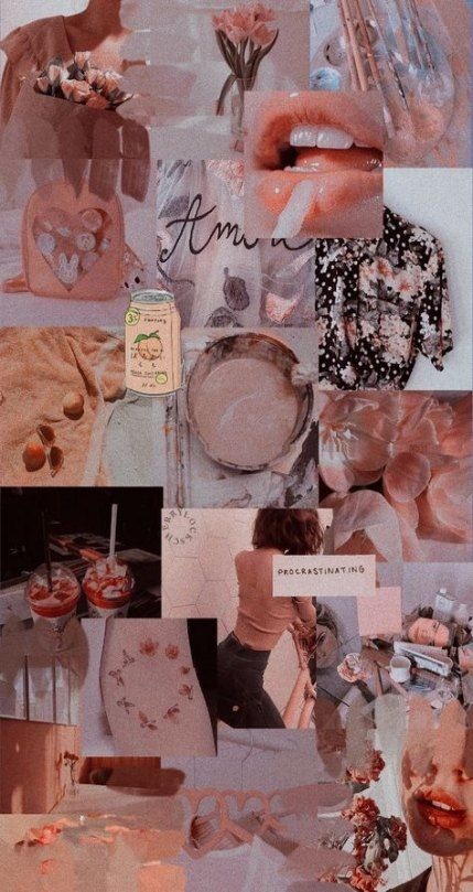 Best Wall Collage Aesthetic 67 Ideas Wall Peach Aesthetic