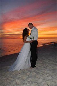 A Beautiful Sunset Wedding In Panama City Beach FL