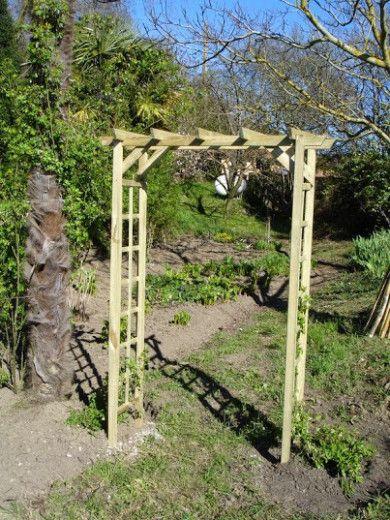 garden arch outdoor structures