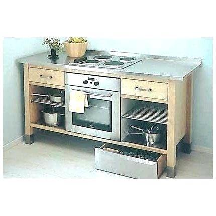 plaque de cuisson meuble cuisine