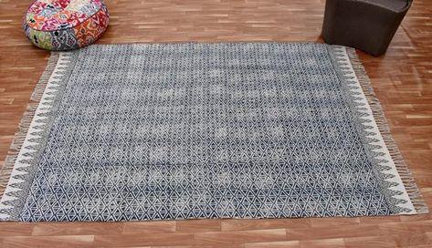 Handmade Large 5x8 Ft Indin Rug